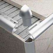 001.32100 (8mm/10mm/12mm) - Αλουμινίου στο D. P. PROFILES