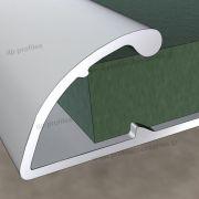11400 (9mm) - Αλουμινίου στο D. P. PROFILES