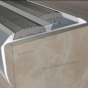 15700 (60mmX28mm) - Γωνίες Αλουμινίου στο D. P. PROFILES