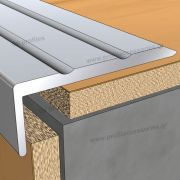 16400 (24mmΧ9.5mm) - Βαφή σε απομίμηση ξύλου στο D. P. PROFILES