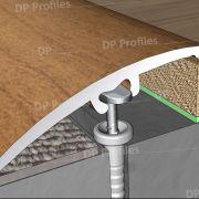 18000 (41mm) - Βαφή σε απομίμηση ξύλου στο D. P. PROFILES