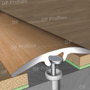 18100 (30mm) - Βαφή σε απομίμηση ξύλου στο D. P. PROFILES