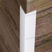 32017 (20mmX20mm) - Γωνίες PVC/Λάστιχο στο D. P. PROFILES