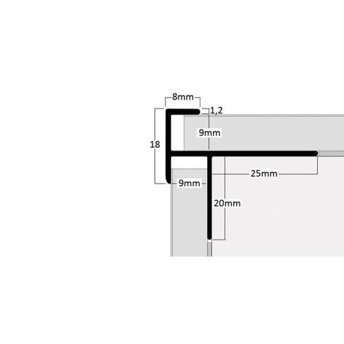 83670 - Φιλμ σε απομίμηση ξύλου στο D. P. PROFILES