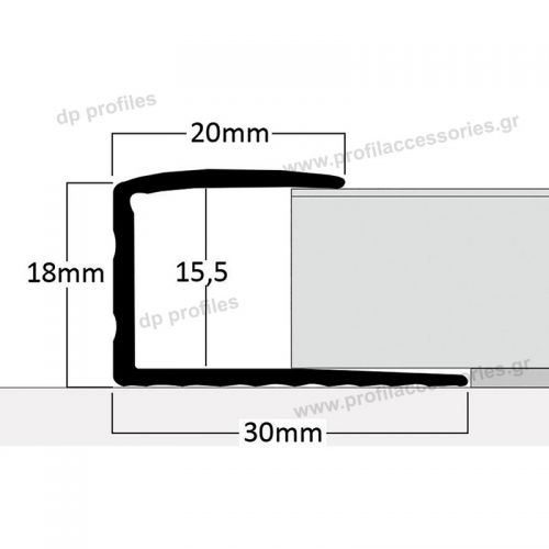 14800B - Βαφή σε απομίμηση ξύλου στο D. P. PROFILES
