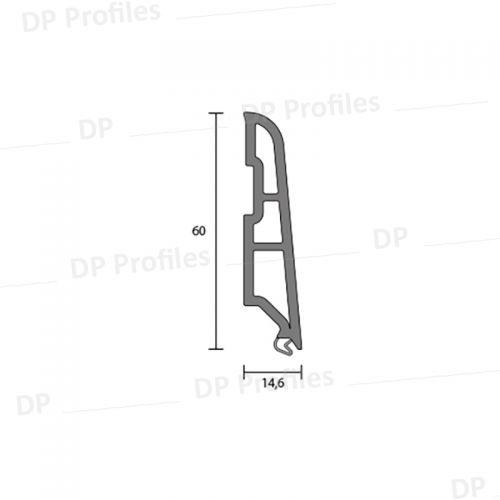 10537 (60mm) - PVC στο D. P. PROFILES